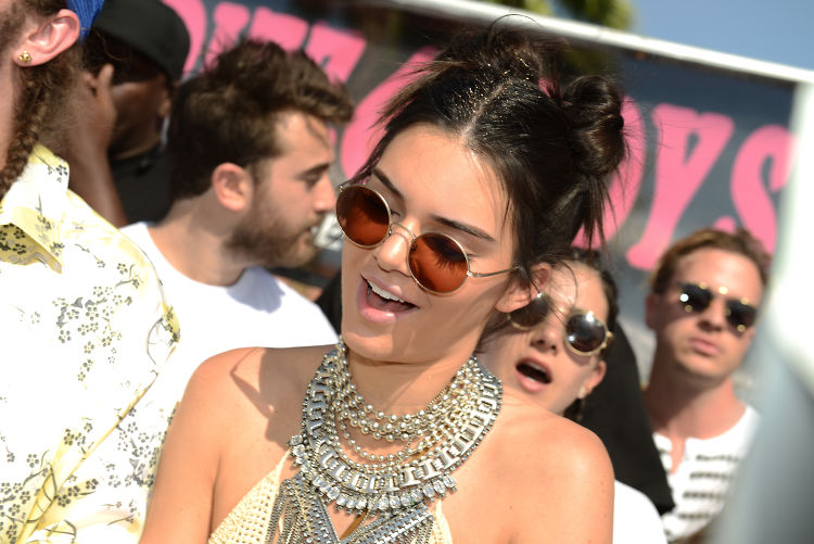 Kendall Jenner & Leonardo DiCaprio Party At Coachella 2016, Weekend 1