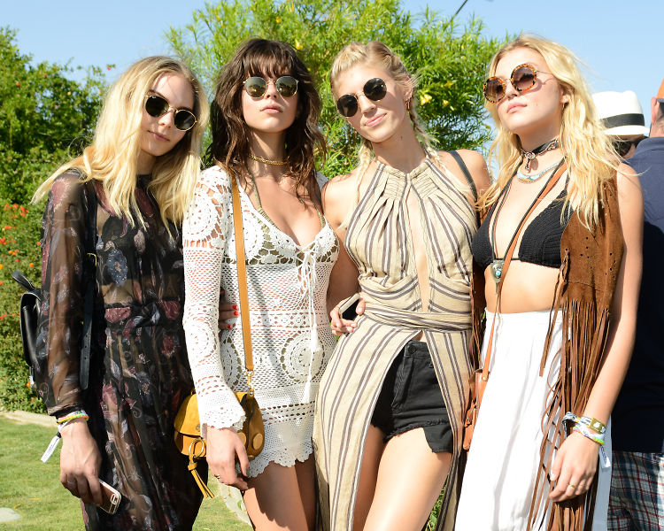 Squad Goals: The Hottest Girl Gangs At Coachella, Weekend 1