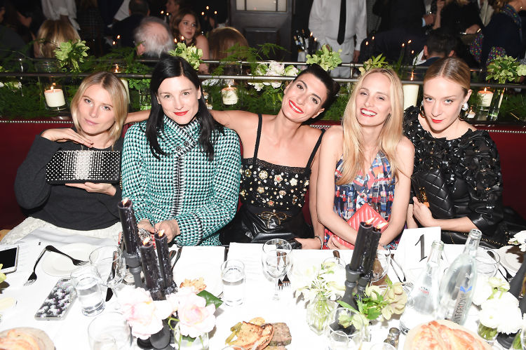 Katie Holmes & Chloe Sevigny Toast Tribeca At Chanel's 11th Annual Artists Dinner