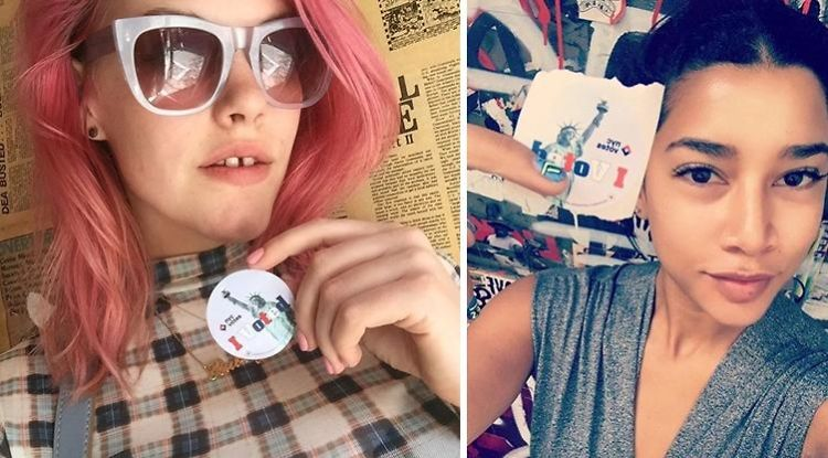 13 Of Our Favorite New Yorkers Show Off Their Votes
