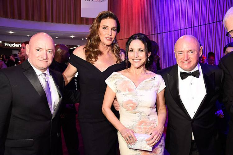 Donald Trump & Caitlyn Jenner Party At The 2016 Time 100 Gala