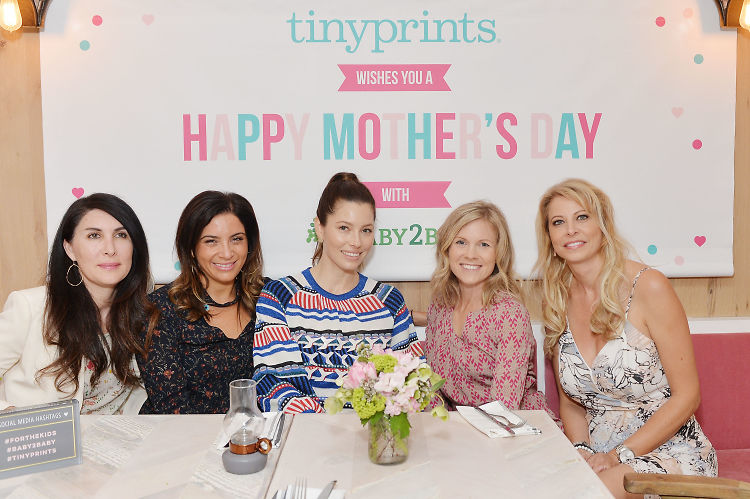 Jessica Biel, Rachel Zoe & Kelly Rowland Got Together For A Chic Mommy Date