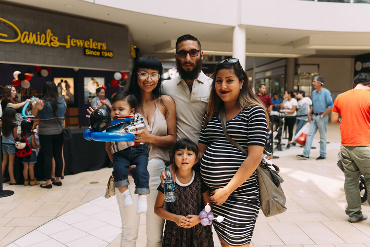 Inside The Shops At Montebello Diaper Derby Event