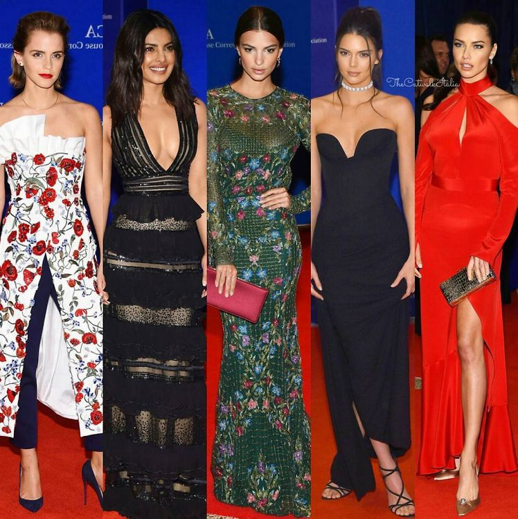Our Favorite Looks From The White House Coorespondents' Dinner 2016
