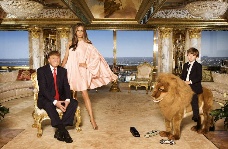 Inside Donald & Melania Trump's $100 Million NYC Penthouse