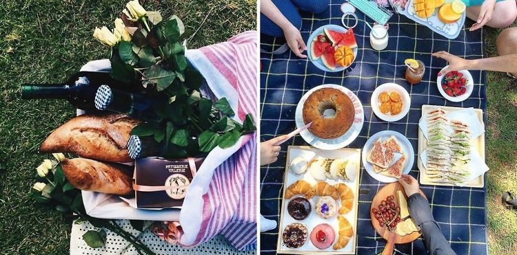 How To Picnic In Central Park's Secret Garden