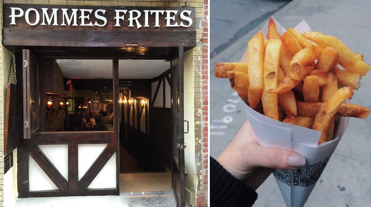Pommes Frites Returns In All Its Starchy, Fried Glory