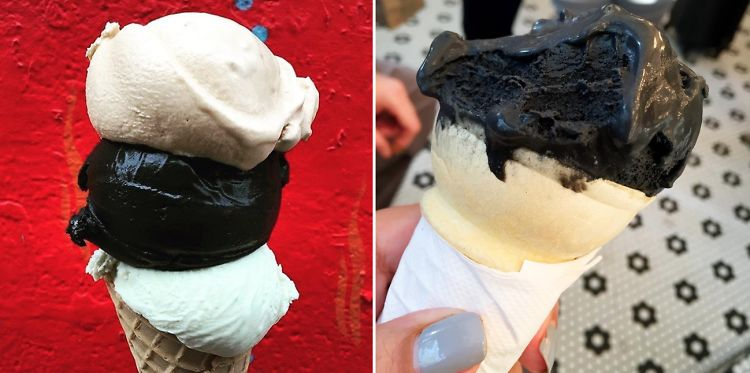 New Yorkers, Now Even Your Ice Cream Can Be Black
