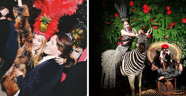 Aquazzura's Edgardo Osorio Turns 30 With A Surrealist Ball In Florence