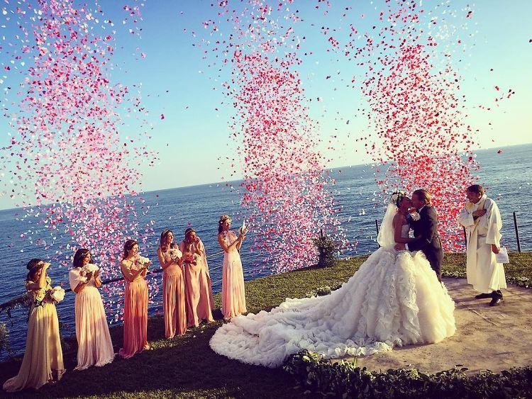 10 Unbelievable Photos From Giovanna Battaglia's Wedding In Capri