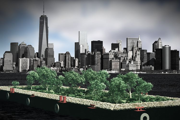 There's A Free, Floating Farmers' Market Coming To NYC