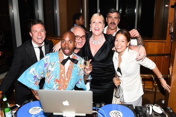 This Is What Happens When Grindr Throws A Black Tie Pajama Party At The Standard
