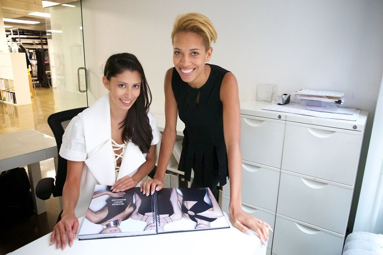 Carly & Michelle Of Cushnie et Ochs Take Us Behind The Scenes Of NYC's Coolest Label