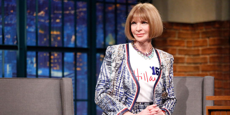 OF COURSE Anna Wintour Is Behind Hillary Clinton's Campaign Style