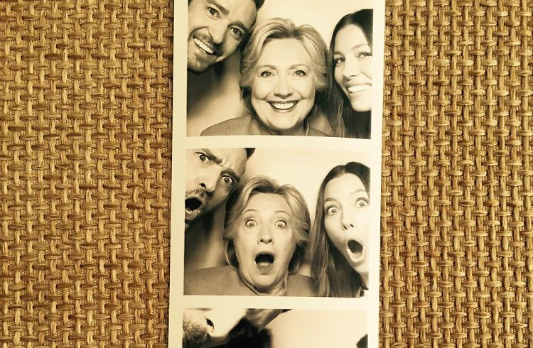 Justin Timberlake, Jessica Biel & Hillary Clinton Are The Ultimate Threesome