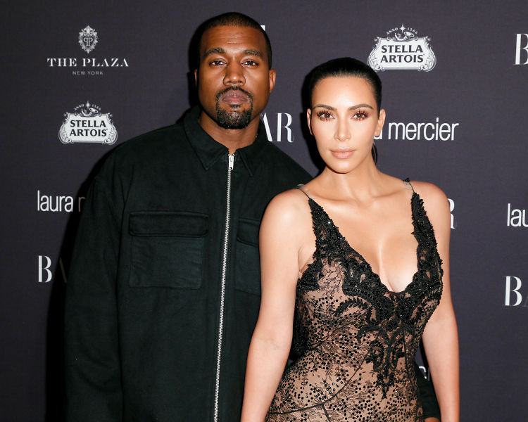Kim, Kanye & Carine Shut Down The Plaza For Harper's Bazaar ICONS