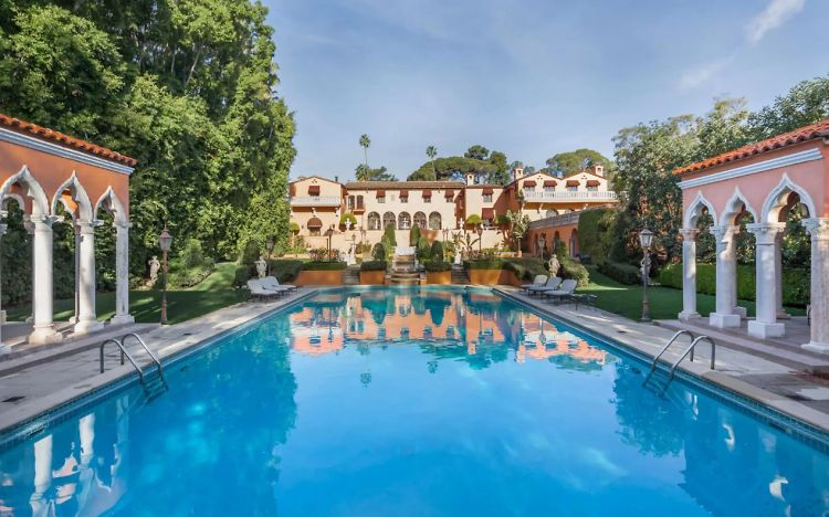 Inside The Former Hearst Mansion On The Market For $195 Million