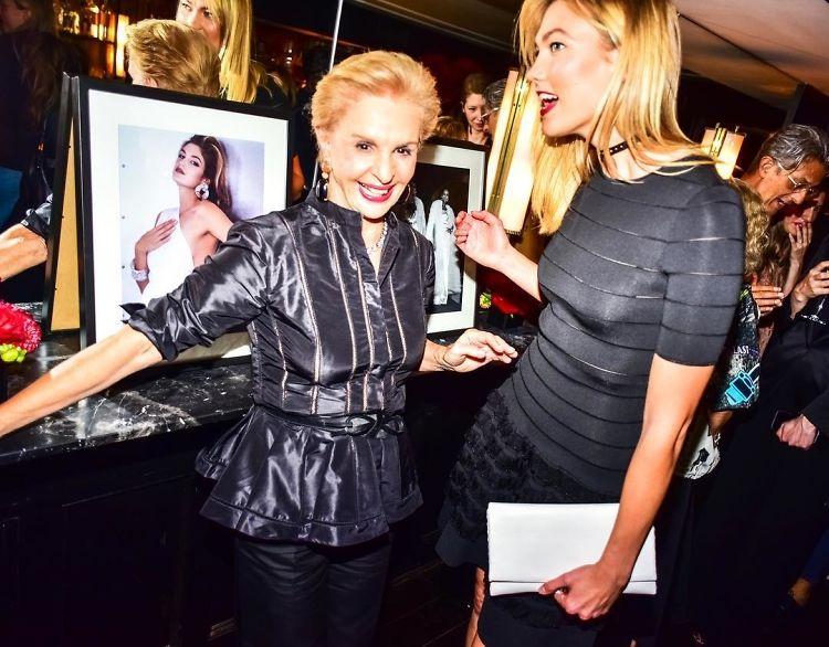 Karlie Kloss & Serena Williams Celebrate 35 Years Of Fashion With Carolina Herrera