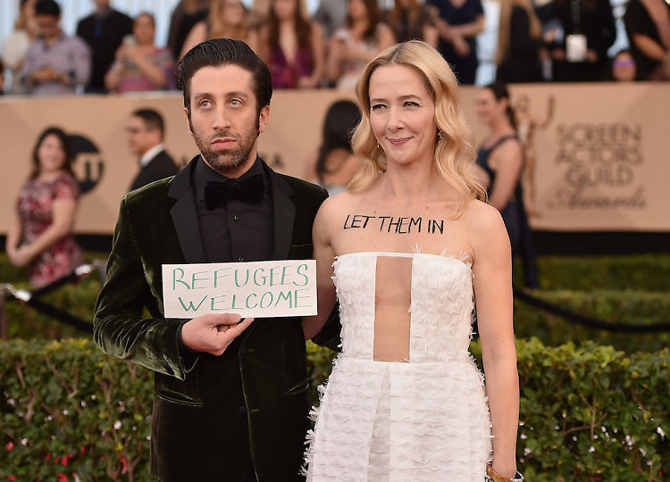 The Biggest Political Statements At The SAG Awards 2017