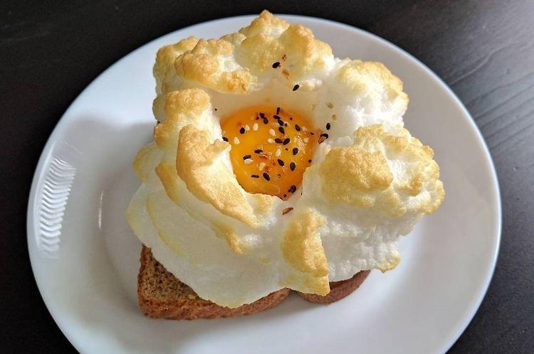 Cloud Eggs: Instagram's New Favorite Breakfast Trend