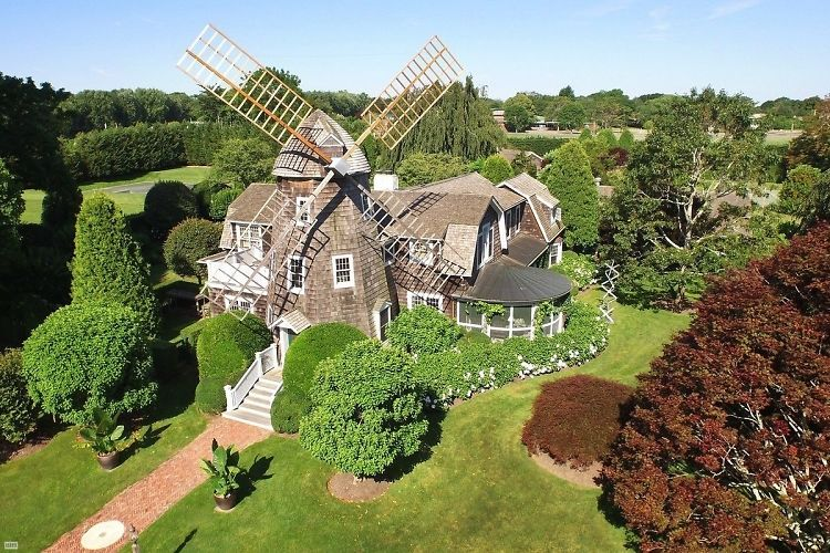 Robert Downey Jr. Buys Almost Too Quaint East Hampton Windmill Cottage
