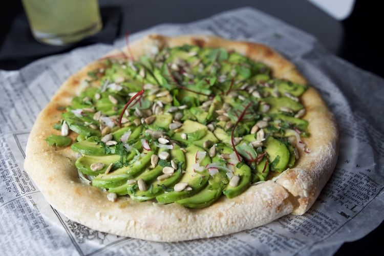 Avocado Toast Pizza Is NYC's Most Exclusive Pie