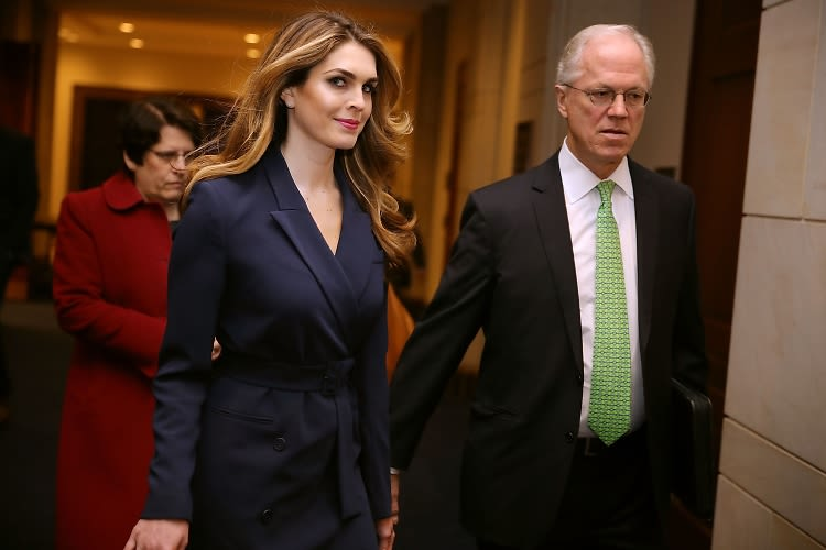 Hope Hicks Is Leaving The White House