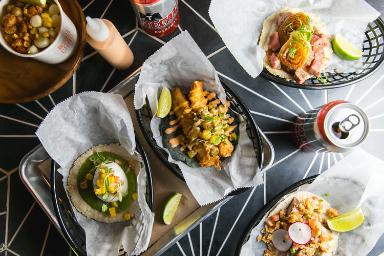 There's A New Taco Hot Spot Hidden In A Cocktail Bar