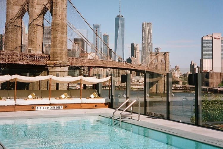 The Chicest NYC Pools To Dip Into This Summer