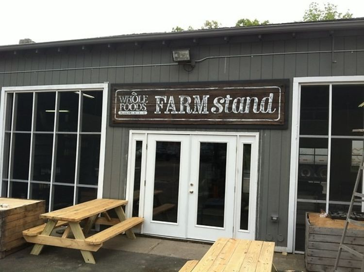 Whole Foods FARM Stand Opening In East Hampton