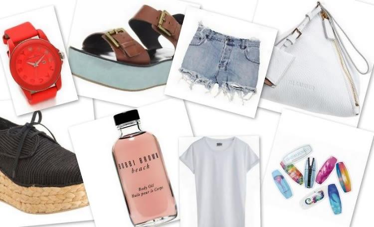 Our Summer Essentials Wish List 2012