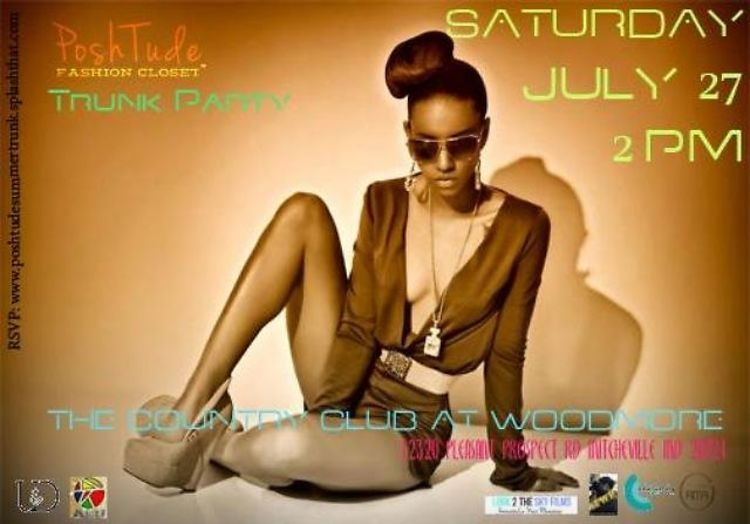 You're Invited: PoshTude Fashion Closet Summer Trunk Party This Saturday