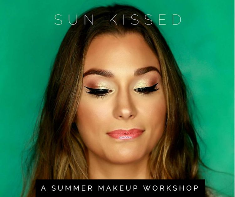 This July, Get Sun-Kissed Glam With Makeup Artist Jacqueline Gellner!