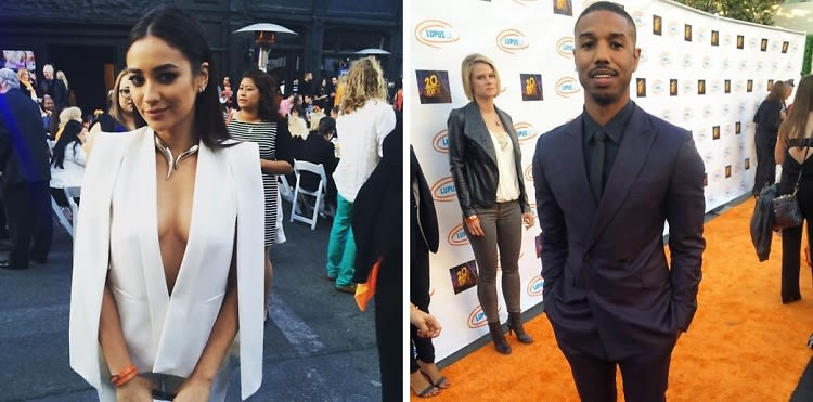Toni Braxton, Michael B. Jordan & More Share Their Superheros At The 15th Annual Lupus LA Orange Ball