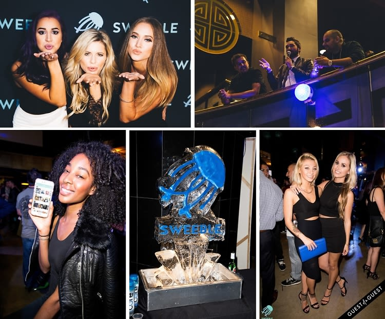 Inside The Sweeble Launch Event In Hollywood