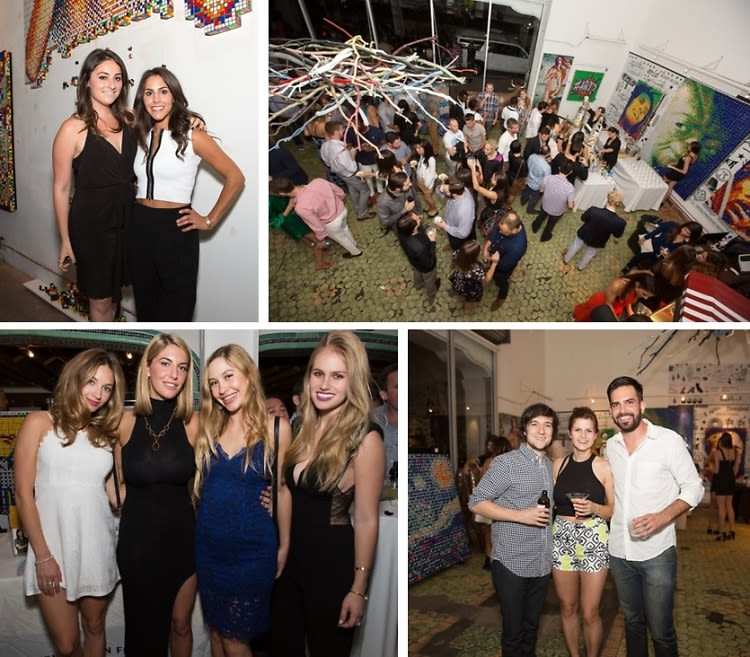 Inside The Hollywood Stars For A Cause Event At LAB ART