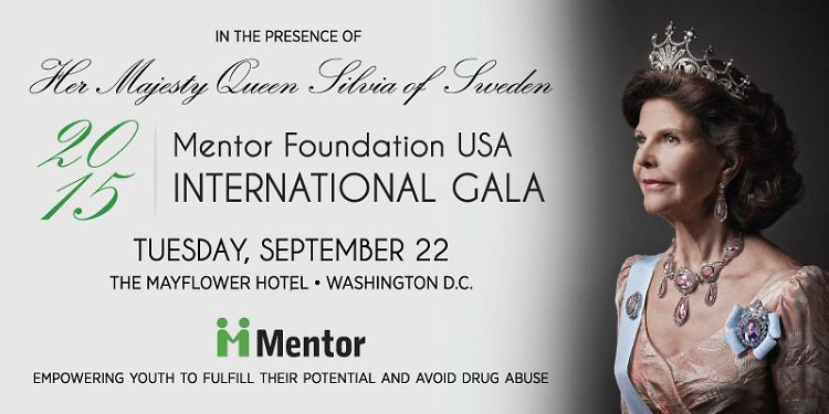 You're Invited: Mentor Foundation Annual Gala with HM Queen Silvia Of Sweden
