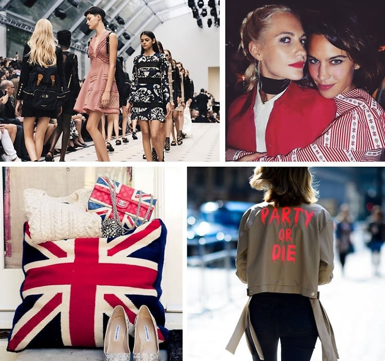 Instagram Round Up: The Best Of London Fashion Week SS16