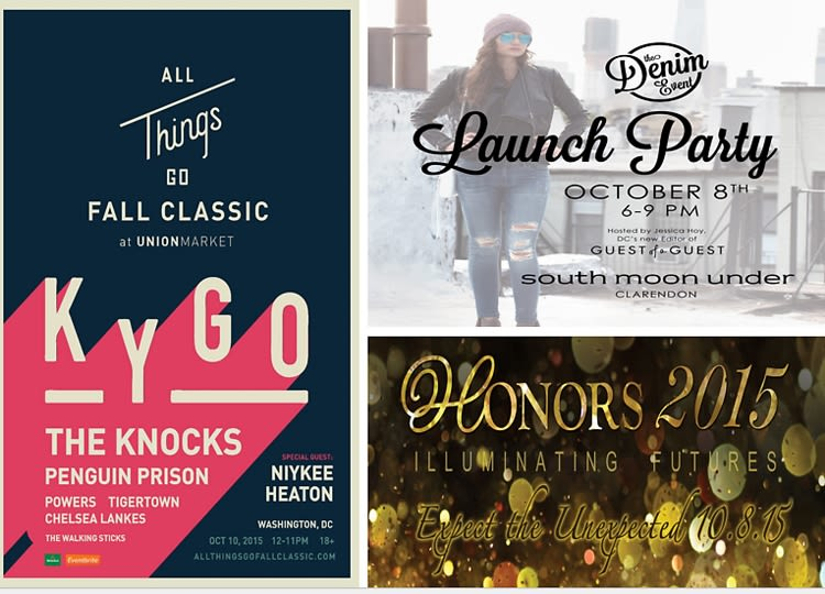 The Playground: Your Guide To Going Out In DC This Week