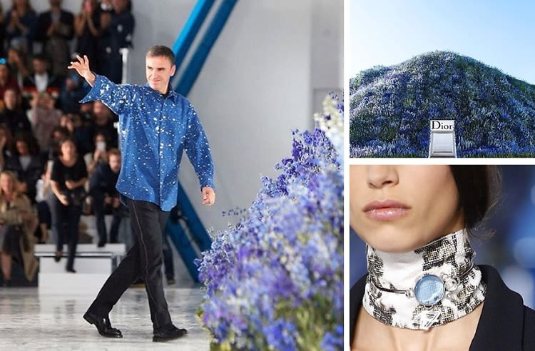 Raf Simons Says Au Revior: 5 Iconic Moments From His Time At Dior