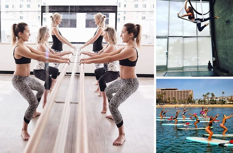 10 Unique Workout Classes To Try In L.A. This Fall