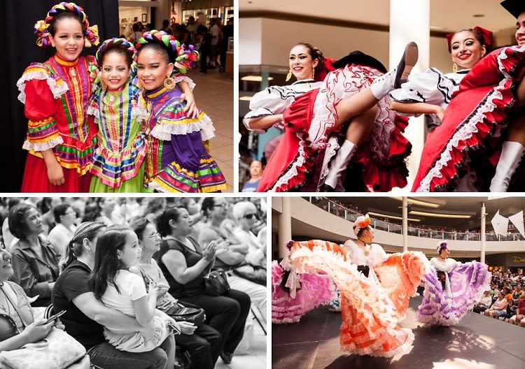 Inside The Shops At Montebello Hispanic Heritage Month Event