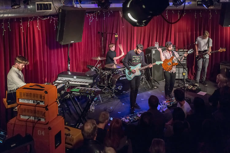 KCRW's Apogee Sessions Featuring Foals Brings Festival Sized Power To An Intimate Space