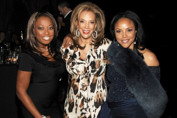 Star Jones Denise Rich Lynn Whitfield