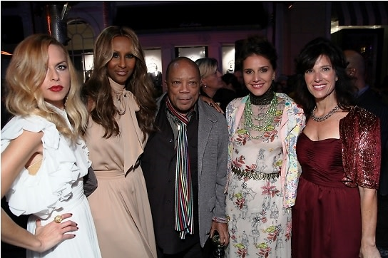 Iman Rachel Zoe Quincy Jones Margherita Missoni Peri Ellen Berne