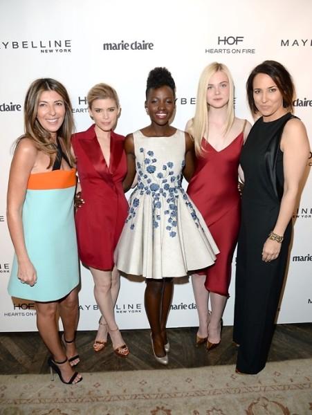 Nina Garcia Kate Mara Elle Fanning Anne Fulenwider Lupita Nyong\'o