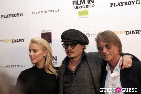 Johnny Depp Amber Heard Bruce Robinson
