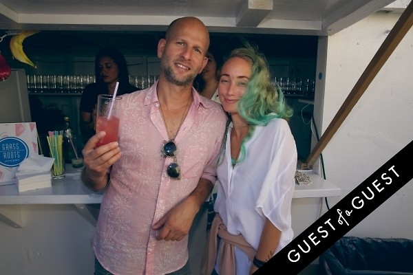 Cynthia Rowley Co Hosts A Beach Backyard Party In Montauk With