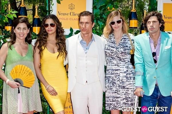 Matthew McConaughey Nacho Figueras Vanessa Kay Delfina Blaquier Camila Alves