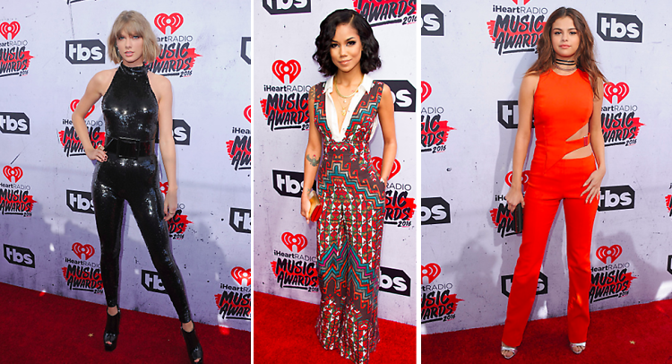 8ea722316c2 How The Jumpsuit Took Over The iHeartRadio Awards Red Carpet